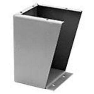 "nVent Hoffman AFK0618 Floor Stand Kit, Height: 6"", Steel/Gray"