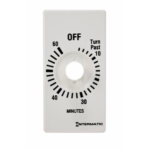 Intermatic FD60MPW White Plastic Time Dial Only For 60 Minute Timer