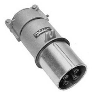 Appleton AP20044CD Pin & Sleeve Plug, 200A, 4W4P, Style 1