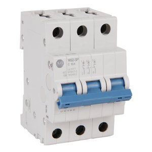 Allen-Bradley 1492-SPM3B150 Circuit Breaker, Miniature, 15A, 3P, Supplementary, Trip B