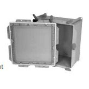 "Ipex 277008 Junction Box, 12 x 12 x 4"", NEMA 4X, PVC"