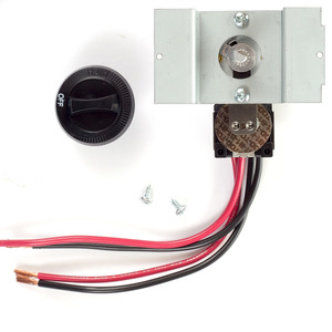 Cadet UCT2B Perfectoe Thermostat Kit, Black. 2-pole.
