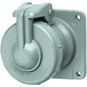 Hubbell-Killark VR1034 100A 3 Pole 4 Wire Receptacle Assembly - AT Type