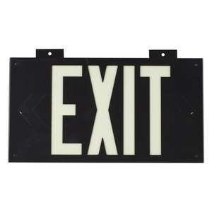 37851B PHOTOLUM EXIT SIGN WALL MOUNTED