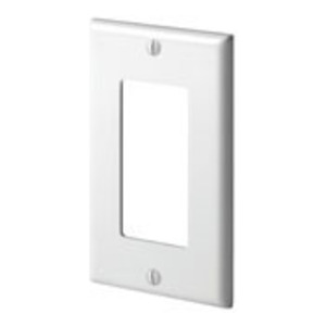 80401-W WHITE 1G DECORA PLATE