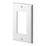 80401-W WHITE 1G DECORA PLATE