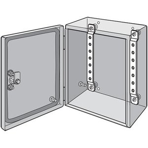 Hoffman LMK15 DIN Rail/Panel Mounting Brackets, For Inline Enclosures, Steel