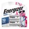 Energizer EL123APB2 Lithium Photo Battery, 3V, 1500 mAh, 2 Pack