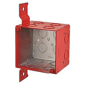 Steel City 521911234CVRD 4SQ-3.5DP W/BRACKET RED