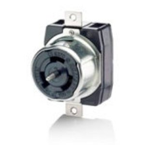 Leviton CS6370 Locking Receptacle, 50A, 125V, Cali Style, 2P3W