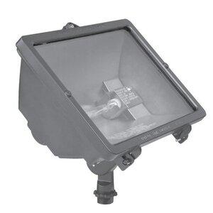 Hubbell - Lighting Q-300-B Flood Light, Quartz, 300W, Bronze