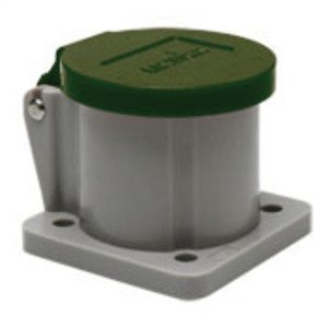 Leviton 16S31-G Male/Female, Thermoplastic Housing and Cover, Green *** Discontinued ***
