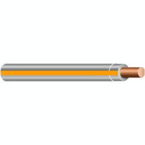 Multiple THHN12SOLGRYORN2500RL 12 AWG THHN Solid Copper, Gray/Orange Stripe, 2500'