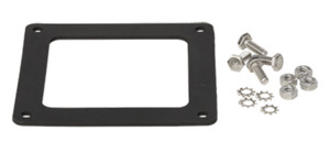 """nVent Hoffman F44WGSS Wireway, Gasket/ Screws, Type 4x Wireway4"""" x 4"""", Rubber, Steel"""
