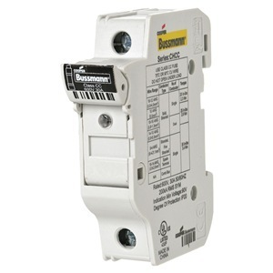 Eaton/Bussmann Series CHCC1DIU Fuse Holder, Modular, Class CC, 1-Pole, w/ Indication, 30A, 600V