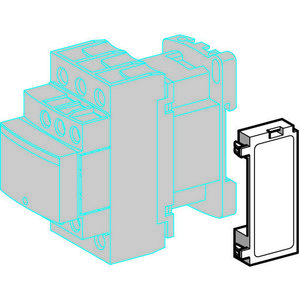 Square D LAD4RCU Contactor, Resistor/Capacitor Circuit, for TeSys Type D, 110-240VAC