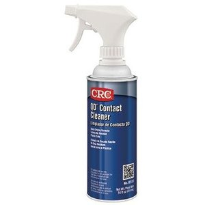 CRC 02133 QD® Contact Cleaner, Quick Dry, 14 oz Non-Aerosol Spray Can