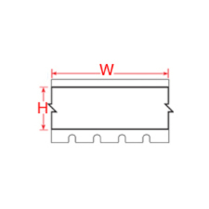 "Brady XC-1250-461 Label,XPERT,B461,1.25""x30ft,Blk/Wht,1 CQ"