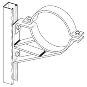 Eaton B-Line B591-2ZN PIPE BRACKET SADDLE