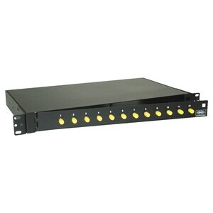 FPR012STM F/O PAN W/12ST SM/MM ADAPT