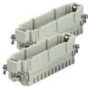 Harting 09330242611 Male Insert, Size 48B, Screw Terminal, 48 Contacts, 16A, 500V, Series 25-48