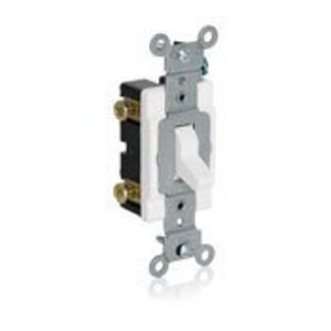 Leviton 1080-W LEV 1080-W SPST LOW VOLTAGE TOGGLE
