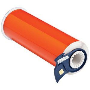 "Brady 13402 Retro Reflective Label Tape, Orange, 10"" x 33'"
