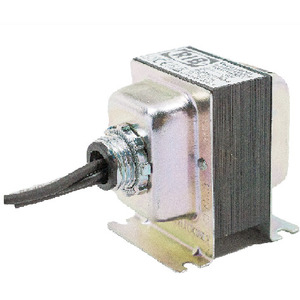 Functional Devices TR20VA001 Transformer, 20VA, 120VAC -24VAC, 1PH, with Breaker