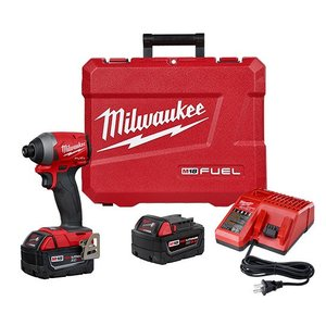 "Milwaukee 2853-22 M18™ Fuel 1/4"" Hex Impact Driver Kit"