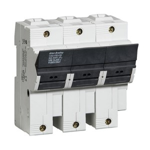 Allen-Bradley 1492-FB3J30-L Fuse Holder, Class J, 30A, 3P, 110 - 600V, with Indicator
