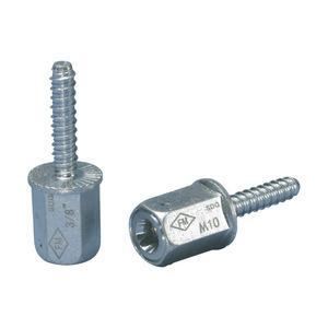 "nVent Caddy CRLA37EG Rod Lock Anchor Screw, 3/8"", Electro-Galvanized"