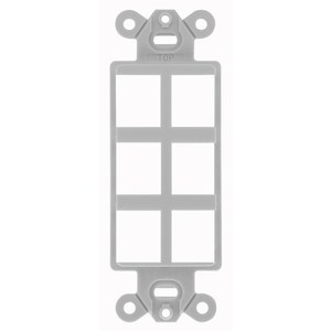Hubbell-Premise ISF6GY PLATE, DECORATOR