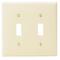 80709-E EB WP 2G TGL SW PLASTIC