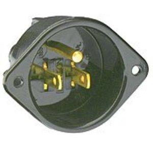 Leviton 5239 15 Amp, 125 Volt, 5-15P, Motor Plug Receptacle
