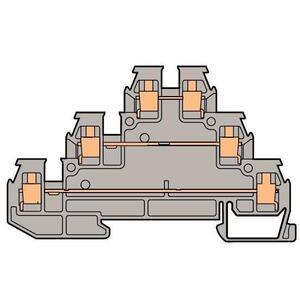 Entrelec 011554111 Three Level Sensor Terminal Block, Type: DR 2,5/6.D