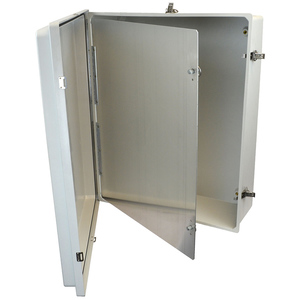 Allied Moulded HFP2420 Enclosure hinged front panel kit for use with Allied Moulded Control Series