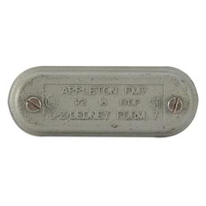 "Appleton 170F Conduit Body Cover, 1/2"", Form 7, Iron Alloy"