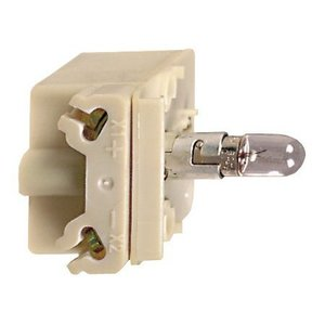 Square D 9001KM35 Light Module, 30mm, 24V AC/DC, Transformer, Incandescent, BA9S