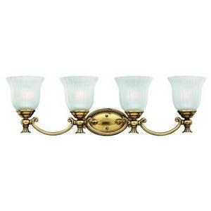 Hinkley Lighting 5584PL Bath Light, 4 Light, 100W, Polished Nickel