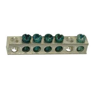Siemens ECGB5 Ground Bar Kit, 5 Circuit, for Legacy Load Centers