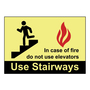 PPS0710G020 PHOTOLUMINESCENT SAFETY SIGN