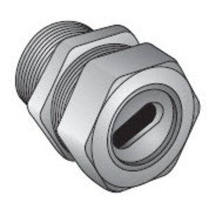 "Appleton WC-1501 Box Connector, 1-1/2"", SEU Type , Zinc Die Cast"