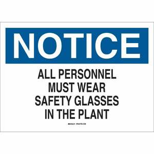 22623 EYE PROTECTION SIGN