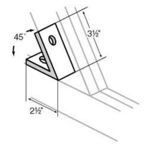 Superstrut AB225HDG Sstrut Fittings/brackets