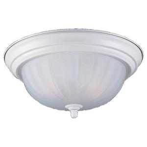 Sea Gull 7504-15 Close to Ceiling Light, 1 Light, 100W, White