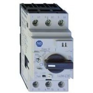 Allen-Bradley 140M-C2T-C10 Breaker, Motor Protection, 10A, C Frame, 3P, High Magnetic