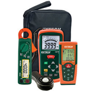 Extech LRK15 Meter Kit w/ Light, Distance, and Power Clamp Meter