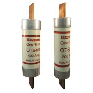 OTS10 FUSE 10A/600V ONE TIME CL.K5