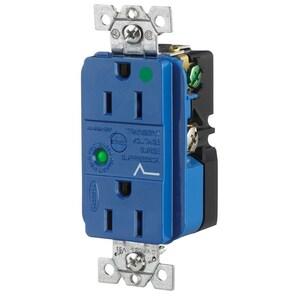 Hubbell-Wiring Kellems HBL8262SA DUP SPD RCPT, HG, 15A