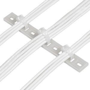 Panduit MTP1S-E10-C Multiple Tie Plate, M5 Screw, Natural